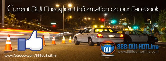 DUI Checkpoints on Facebook